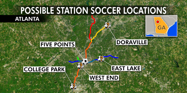 Soccer in the Streets is currently evaluating Doraville, East Lake, West End and College Park as potential Station Soccer locations.