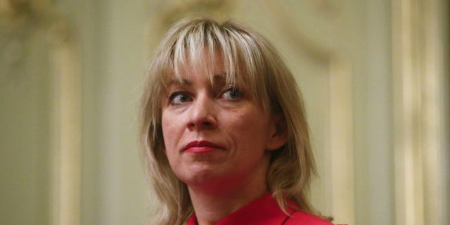Maria Zakharov, spokeswoman for Russia's Foreign Ministry.