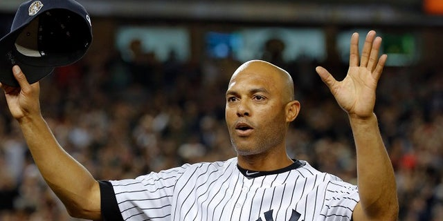 Retired MLB pitcher Mariano Rivera is the all-time leader in saves and won five World Series with the Yankees.