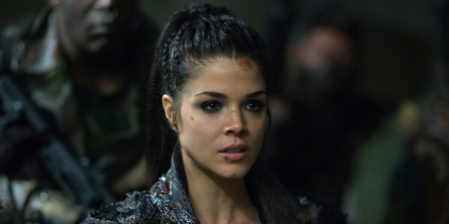 "Actress Marie Avgeropoulos stars as Octavia Blake on The CW's ""The 100."""