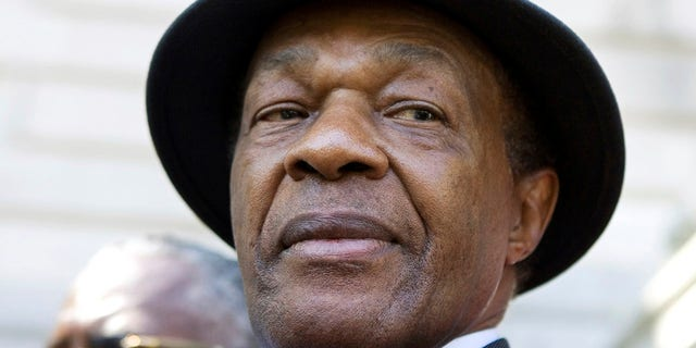 Marion Barry, a former mayor of Washington, D.C., who died in 2014, is seen in a photo from July 6, 2009.