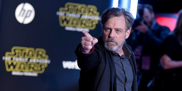 """Star Wars: The Force Awakens"" director said Mark Hamill ""was not particularly happy"" with how small his role was in the 2015 film."