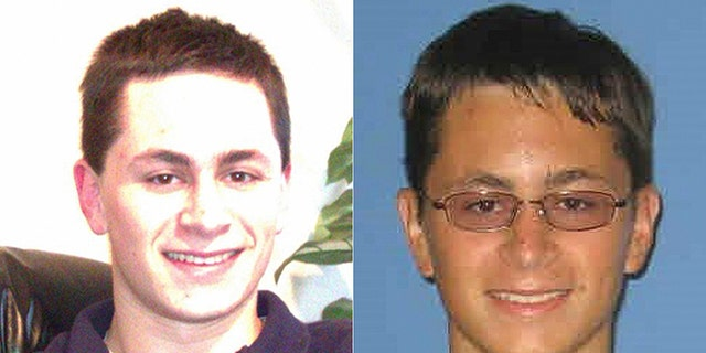 This undated photo from Facebook and a 2010 student ID photo released by Austin Community College shows Mark Anthony Conditt