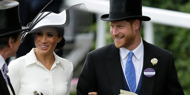 Prince Harry and Meghan Markle appear together at the Royal Ascot along with other members of the royal family.