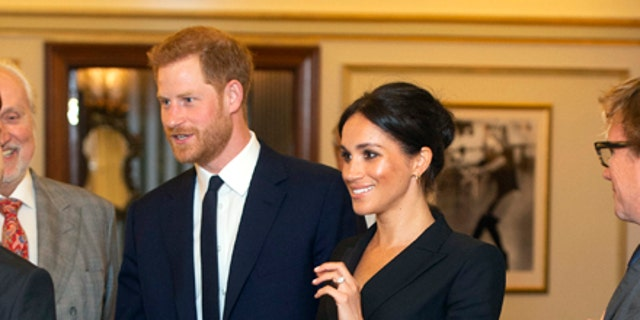 """The Duke and Duchess in London's West End for the special """"Hamilton"""" show gala."""