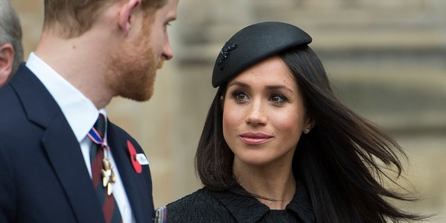 Buckingham Palace officially relieved Harry and Markle of their royal duties in February.