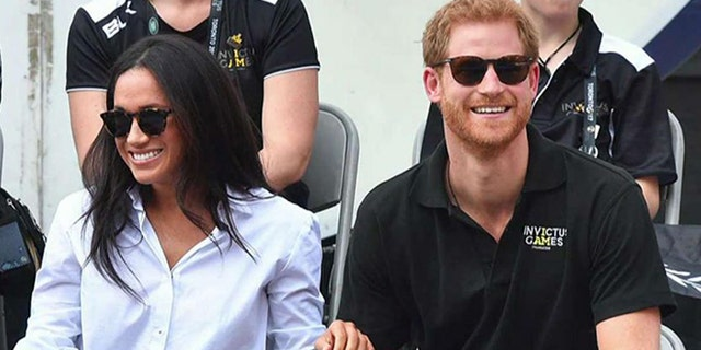 Prince Harry and Meghan Markle appeared together at the Invictus Games earlier this year.