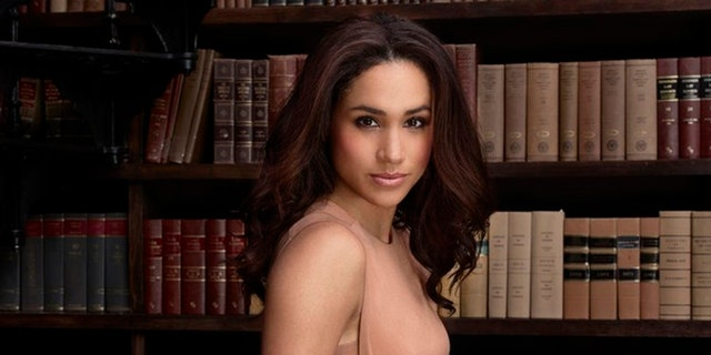 """Meghan Markle poses for a promotional photo for """"Suits."""""""