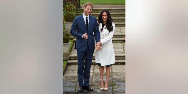 Markle sported a Line the Label coat, a dress from P.A.R.O.S.H., and a pair of Aquazzura pumps. Oh, and Harry was there too.