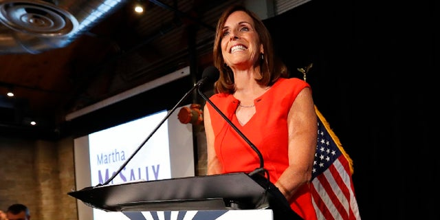 Rep. Martha McSally won the Republican primary on Tuesday for U.S. Senate in Arizona.