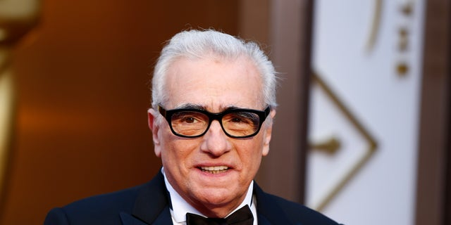 """Martin Scorsese, best director nominee for his film """"The Wolf of Wall Street"""", arrives at the 86th Academy Awards in Hollywood, California March 2, 2014. REUTERS/Lucas Jackson (UNITED STATES  - Tags: ENTERTAINMENT HEADSHOT)(OSCARS-ARRIVALS) - RTR3FY3R"""