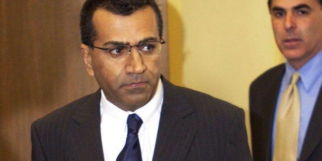 Back on the job: Bashir has resurfaced at the BBC.