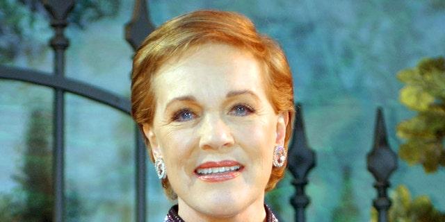 Julie Andrews in 2004. — AP
