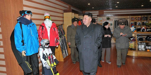 The ski resort was lauded as one of Kim Jong Un's first major projects.