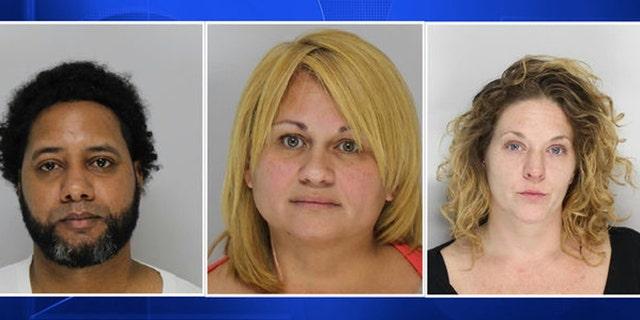 Juan Miranda-Ortiz, Rudencia Montes, and Corrine Gentile were arrested Friday.