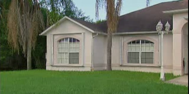 The Abasins' home in Port St. Lucie.