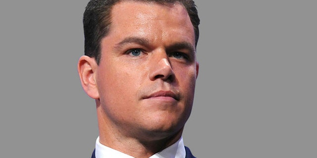 Actor Matt Damon