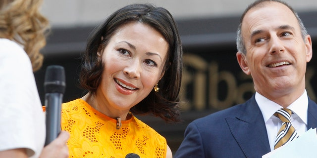 """During Ann Curry's yearlong stint on """"Today,"""" Matt Lauer reportedly told a colleague, """"I can't believe I am sitting next to this woman."""""""