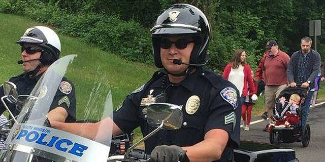Sgt. Matthew Mainieri of the South Windsor Police Department in Connecticut.