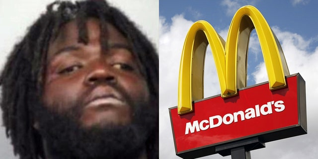 A man at a McDonald's in Georgia barricaded himself in the bathroom after employees suspected he had a knife and was doing drugs.