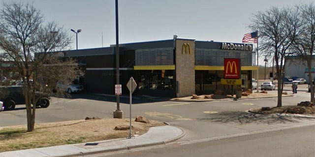 The McDonald's at 102 North University Avenue in Lubbock, Texas, is said to be operating as normal following an attack on its drive-thru window.