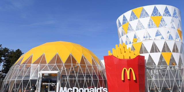 "McDonald's hopes the fun restaurant brings ""unique enjoyment to the customers as a landmark of the Gangneung Olympic Park."""