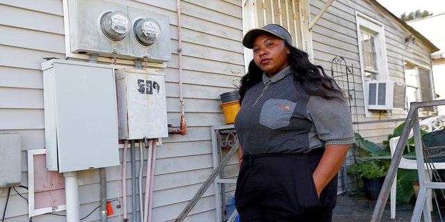 Tanya Harrell, seen here outside her home in Gretna, La., filed a complaint with the EEOC in May alleging that her two managers at a local McDonald's teased her, but otherwise took no action after she told them of sustained verbal and physical harassment by a co-worker.