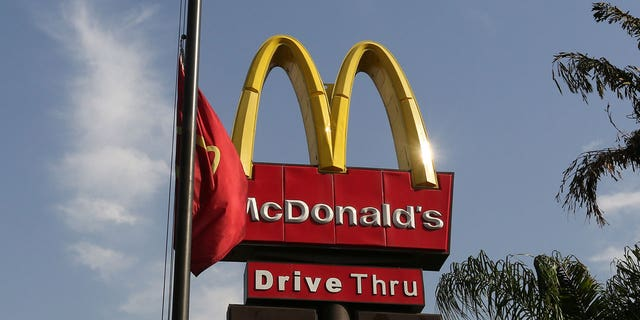Two women in a Texas McDonald's were filmed punching and fighting each other.