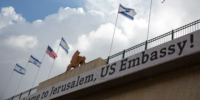 Israel gets ready  to open the U.S. Embassy in Jerusalem.