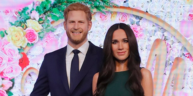 The royal wax figures have been revealed just 10 days before the royal wedding on May 19.