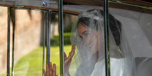 Meghan Markle on her wedding day.