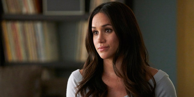 "Meghan Markle plays Rachel Zane on USA's ""Suits."""