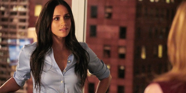 """Meghan Markle filming """"Suits."""""""