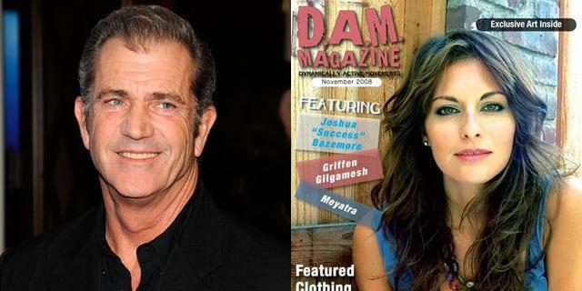 Mel Gibson and Nadia Lanfranconi.