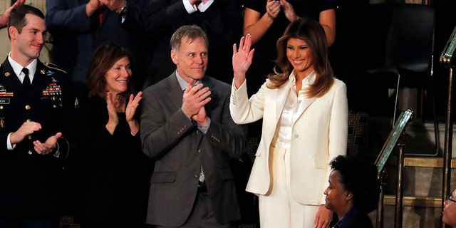 """""""Mrs. Trump will never fit into a mold and is not concerned about the comparisons often made of her. The first lady wishes to make a difference in our country and hopes that regardless of political affiliation, everyone will realize she is her own individual."""""""