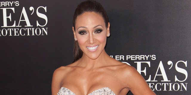 """TV personality Melissa Gorga arrives for the New York premiere of Tyler Perry's """"Madea's Witness Protection"""" in New York June 25, 2012.  REUTERS/Andrew Kelly (UNITED STATES - Tags: ENTERTAINMENT) - RTR345PG"""