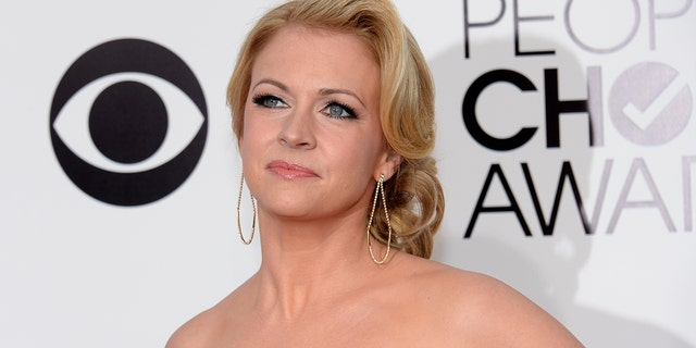 Actress Melissa Joan Hart, pictured here at the 2014 People's Choice Awards.