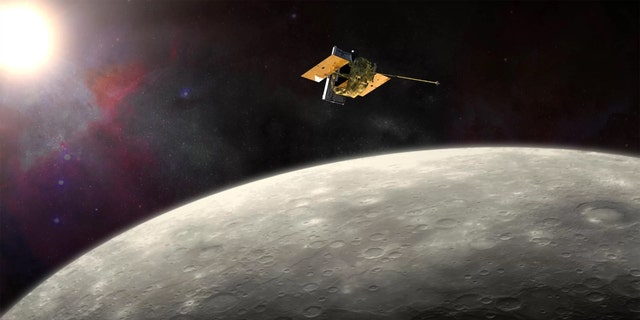 NASA's MESSENGER probe traveled for more than 6.5 years through space before it entered Mercury orbit in 2011. Credit: NASA/JHU-APL