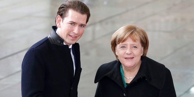 Austrian Chancellor Sebastian Kurz met with his German counterpart Angela Merkel this week.