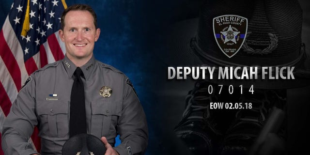 """Flick, 34, was called an """"outstanding member"""" of the El Paso County Sheriff's Department."""