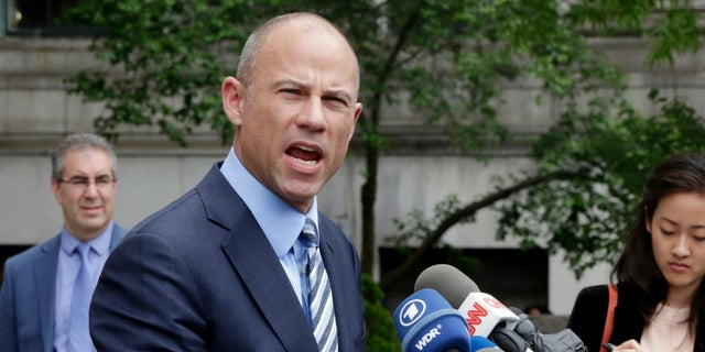 Michael Avenatti said charges were dropped against his client Stormy Daniels.