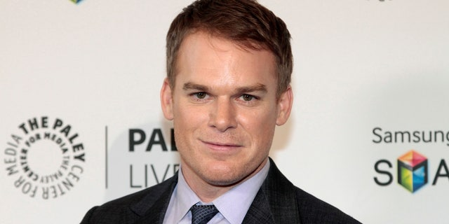 """Actor Michael C. Hall arrives at The 2013 PaleyFest Previews: Fall TV event, """"Fall Farewell: Dexter,"""" at The Paley Center for Media in Beverly Hills, California, September 12, 2013."""