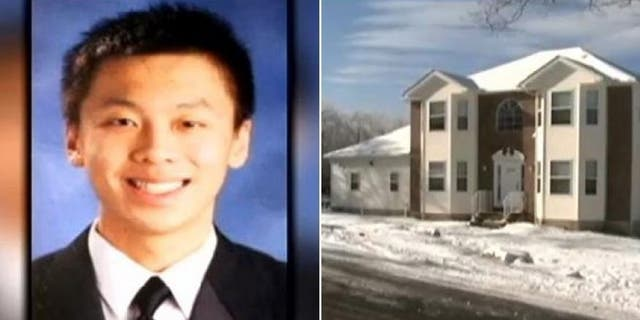 """Chun """"Michael"""" Deng, 19, a Baruch College freshman, died of a brain injury in December 2013 from injuries sustained during a hazing ritual at a house that Pi Delta Psi rented in Pennsylvania."""