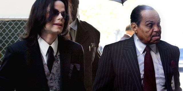 Michael Jackson, left, alleged that his father, Joe Jackson, right, abused him.