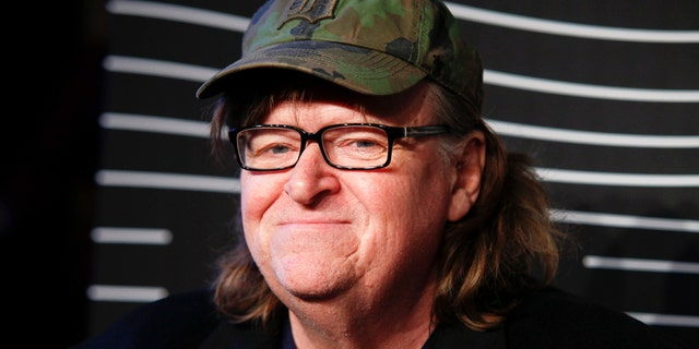 In this May 16, 2016 file photo, Michael Moore attends the 20th Annual Webby Awards at Cipriani Wall Street in New York.