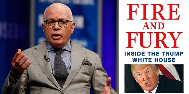 """Author Michael Wolff says he stands by the content of his White House book, """"Fire and Fury."""""""