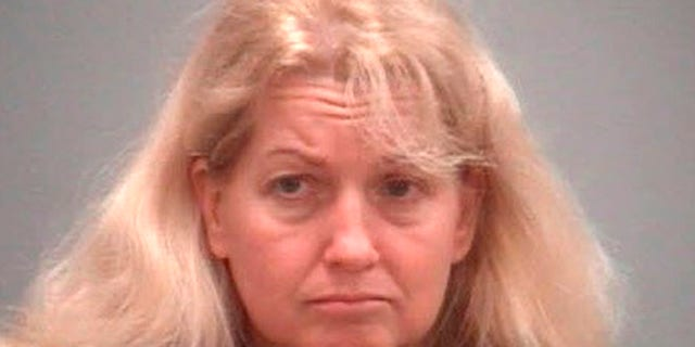 Oct. 7, 2014: This undated file booking photo provided by the Benzie County Sheriff shows Kelli Stapleton