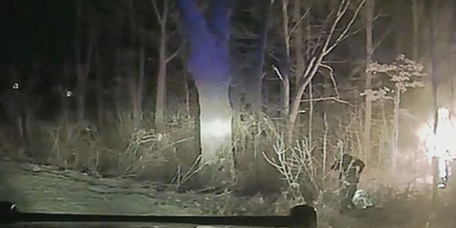 A sheriff's deputy in Michigan raced to rescue a teenager from a burning vehicle.