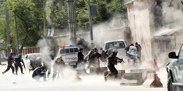 Eight local Afghan journalists were killed and six were wounded. The journalists were part of the Afghan Journalists Safety Committee, a local media watchdog.