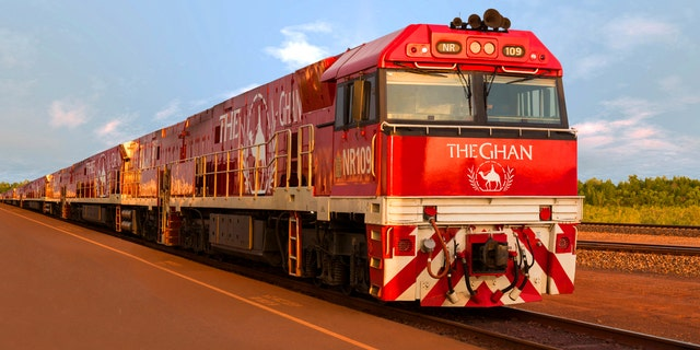 Australia's The Ghan leaves a lasting impression for narrator Teddy Wilson.